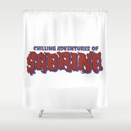 Chilling Adventures Of Sabrina Shower Curtain