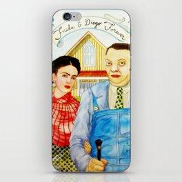 Frida Kahlo and Diego Rivera iPhone Skin