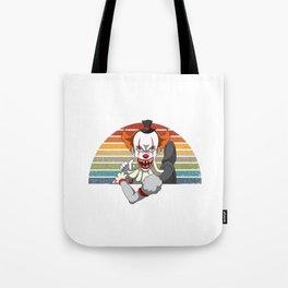 Get In Looser We Are Saving Halloweentown Clown Tote Bag