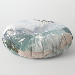 Follow Me Home Floor Pillow