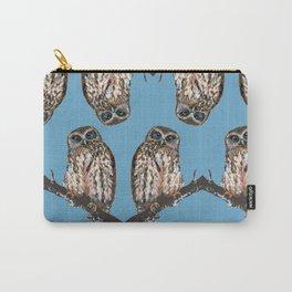 Mrs Ruru, New Zealand Morepork Owl Carry-All Pouch