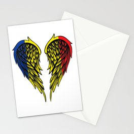 Chad Romania wings art Stationery Cards