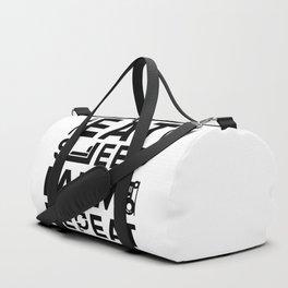 Eat Sleep Farm Repeat Duffle Bag