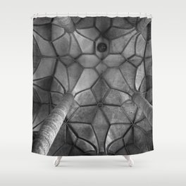 Looking Up - Mondesee Abbey, Salzburg Shower Curtain