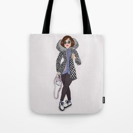 Cold February Tote Bag