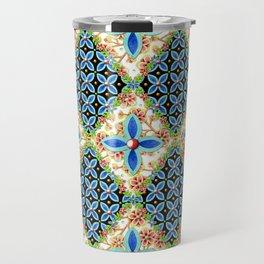 Elizabethan Folkloric Blossoms Travel Mug