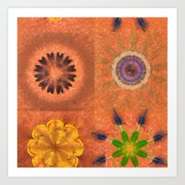 Evolving Truth Flowers  ID:16165-093100-83380 Art Print