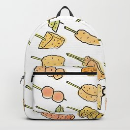 World of Japanese Kushikatsu Skewers Backpack