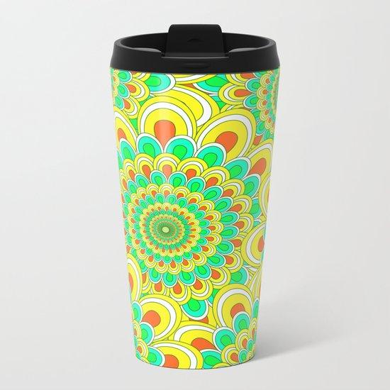 Pattern 54 Metal Travel Mug