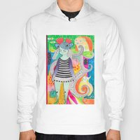 rubyetc Hoodies featuring burst by rubyetc