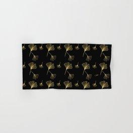 Ginkgo Black Gold Hand & Bath Towel