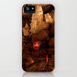 Stop! iPhone Case