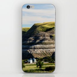 Farm House in the Badlands iPhone Skin