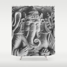 Ganesha Shower Curtain