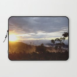Sunset over the jungle in Costa RIca Laptop Sleeve