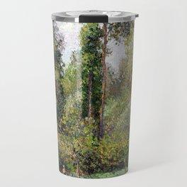Camille Pissarro Poplars, Éragny Travel Mug