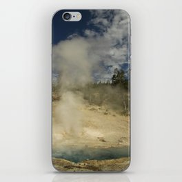 Norris Geyser Basin - Beryl Spring iPhone Skin