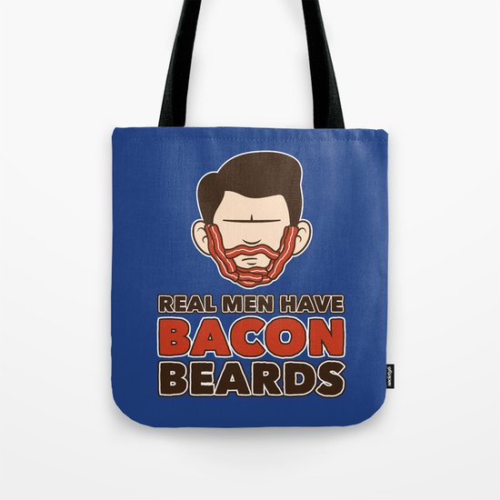Bacon Beard (men's version) Tote Bag