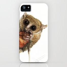 Munching Mouse Lemur iPhone Case