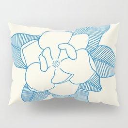 Magnolia Flower Pillow Sham
