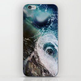 Galactic Glacier iPhone Skin