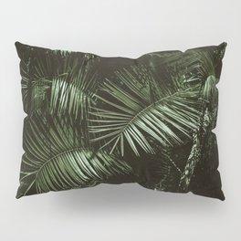 Tropical Moody Palms Pillow Sham