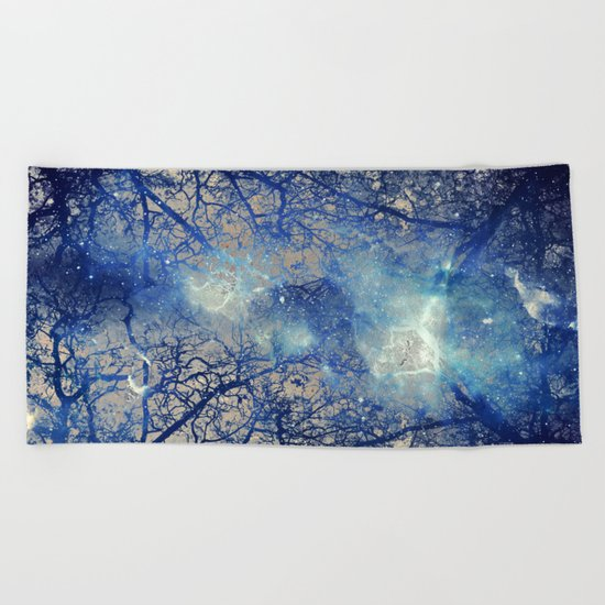 Winter Wood Beach Towel