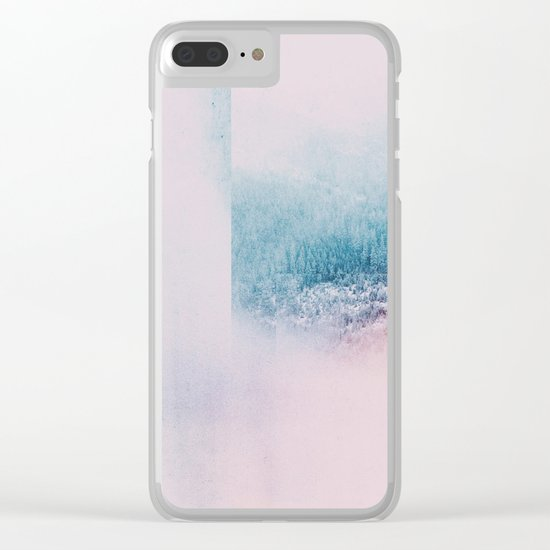 Fractions A68 Clear iPhone Case