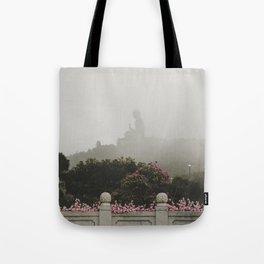 Tian Tan Buddha Tote Bag
