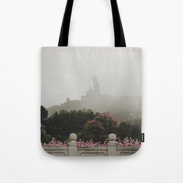 Tian Tan Buddha Tote Bag