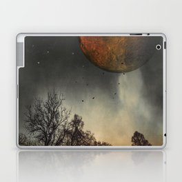 when the moon was young Laptop & iPad Skin