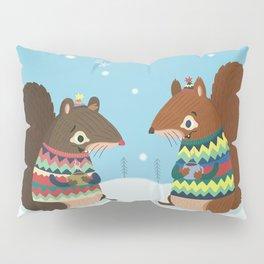 Squirrel Friends Pillow Sham