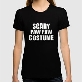 Scary Paw Paw Costume T-shirt