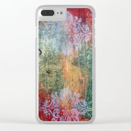 Boxer Rebellion Clear iPhone Case