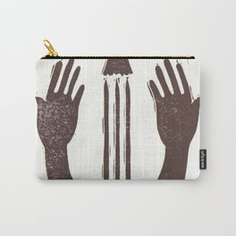 Trust (White) Carry-All Pouch
