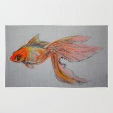 Goldfish Pond (close up #9) Rug