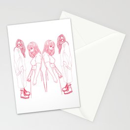 Beatrix and mallory: NYC muses Stationery Cards