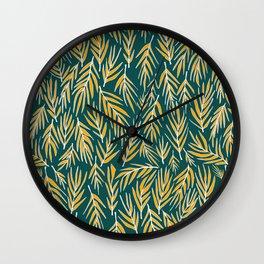 In Wind Wall Clock