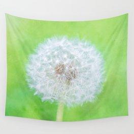 Dandelion - Just Woke Up Beauty Wall Tapestry