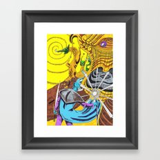 The Wizard 70's Framed Art Print