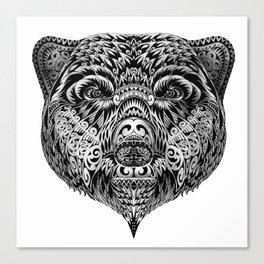 """Ethnic Bear"" Canvas Print"