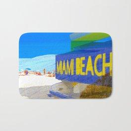 Miami Beach art deco Bath Mat