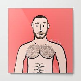 Beard Boy: Adam Metal Print