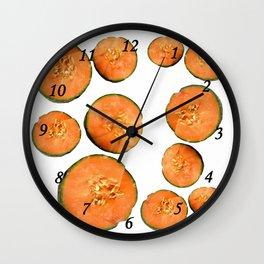 Melon Duo Wall Clock