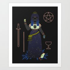 Witch Series: Tarot Cards Art Print