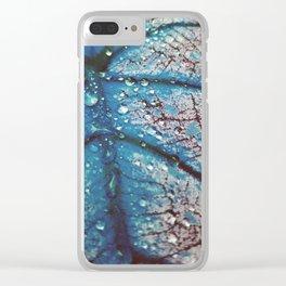 Gamma Leaf Clear iPhone Case