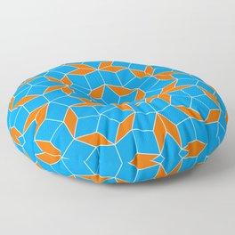 Penrose Tiling Pattern Floor Pillow