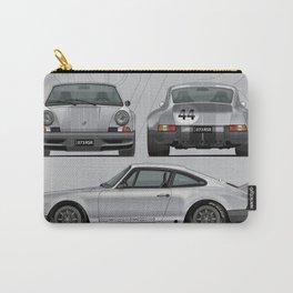 1973 RSR Tribute Fashion Grey Julian Reznik Grey Bumpers Carry-All Pouch