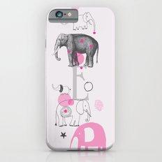 Elephants Circus iPhone 6s Slim Case