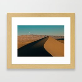 Death Valley Dunes Framed Art Print